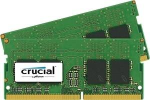 RAM DDR4 Crucial 2x8GB 2400MHz SR [CT2K8G4SFS824A]
