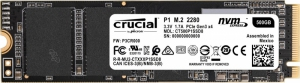 Crucial Dysk SSD P1 500GB M.2 PCIe NVMe [CT500P1SSD8]