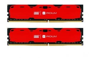 GOODRAM DDR4 IRIDIUM 8GB/2400(2 *4GB) [IR-R2400D464L15S/8GDC]