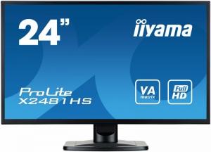 IIYAMA Monitor 24 SLIM [X2481HS-B1]