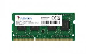 RAM DDR3 ADATA Premier 4GB 1600MHz [AD3S1600W4G11-R]