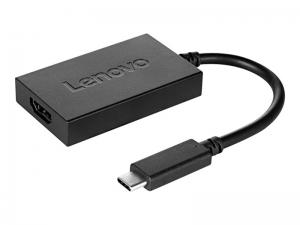 Lenovo - adapter USB-C do HDMI + zasilanie [4X90K86567]