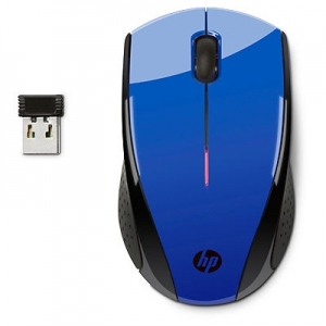 Mysz bezprzewodowa HP X3000, niebieska [N4G63AA]
