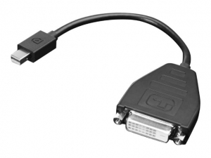 Lenovo - adapter mini DisplayPort do DVI-D (F) [0B47090]