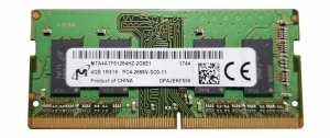 RAM DDR4 Micron 4GB 2400MHz [MTA4ATF51264HZ-2G6E1]