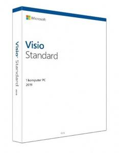 Microsoft Visio Standard 2019 BOX [D86-05838]