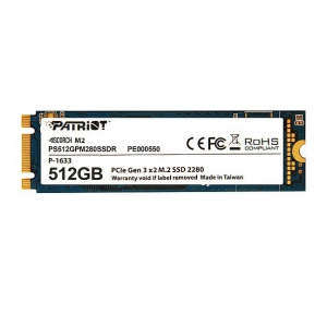 Patriot SSD Scorch 512GB M.2 2280 PCIE [PS512GPM280SSDR]