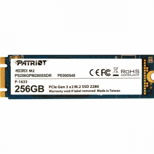 Patriot SSD Scorch 256B M.2 2280 PCIE [PS256GPM280SSDR]