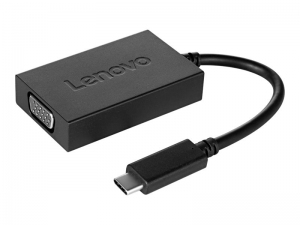 Lenovo - adapter USB-C do VGA + zasilanie [4X90K86568]