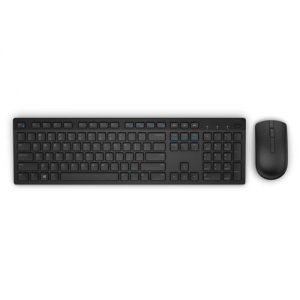 Dell Wireless Keyboard and Mouse - KM636 - US [580-ADFT]
