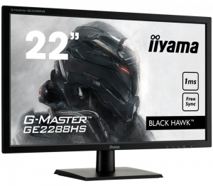 IIYAMA Monitor 22 BLACK HAWK 1ms [GE2288HS-B1]
