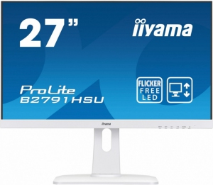 IIYAMA Monitor ProLite UltraSlim FlickerFree BlueLightReducer + FreeSync [B2791HSU-W1]