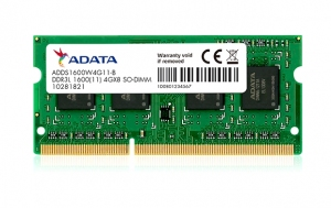 RAM DDR3L ADATA Premier 4GB 1600MHz [ADDS1600W4G11-S]