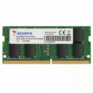 Adata Premier DDR4 2666 SODIMM 32GB CL19 (1x32) STray [AD4S2666732G19-SGN]