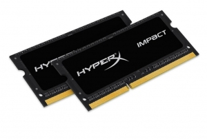 RAM DDR3L Kingston HyperX 2x4GB 1600MHz [HX316LS9IBK2/8]