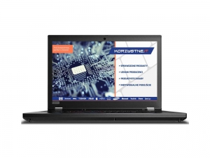 Lenovo ThinkPad P53 [20QN000LPB] + Dysk Toshiba HDD 2,5