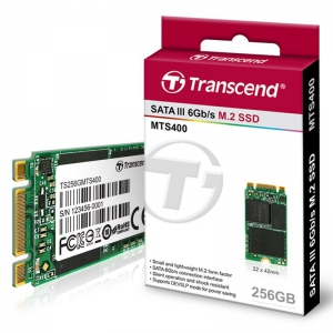 Transcend SSD M.2 2242 256GB SATA3 MLC [TS256GMTS400S]