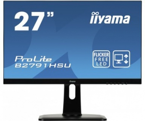 IIYAMA Monitor ProLite UltraSlim FlickerFree BlueLightReducer + FreeSync [ B2791HSU-B1]