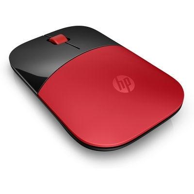 Mysz bezprzewodowa HP Z3700, czerwona [V0L82AA]
