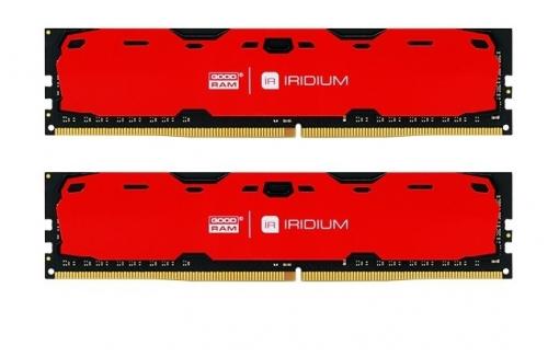 GOODRAM DDR4 IRIDIUM 16GB/2400(2 *8GB) [IR-R2400D464L15S/16GDC]