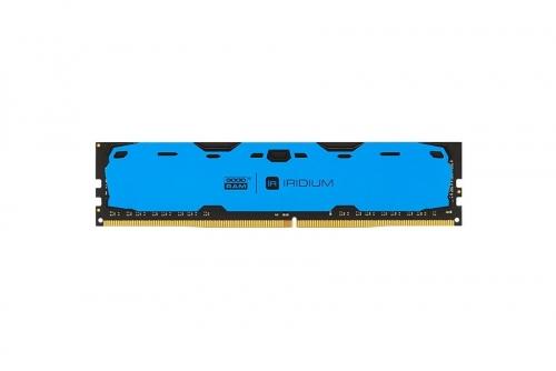 GOODRAM DDR4 IRIDIUM 8GB/2400 Niebieska [IR-B2400D464L15S/8G]
