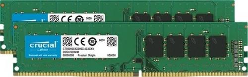 Crucial DDR4 8GB/2400(2*4GB) CL 17 SR x8 [CT2K4G4DFS824A]