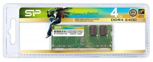 RAM DDR4 Silicon Power 4GB 2400MHz [SP004GBSFU240N02]