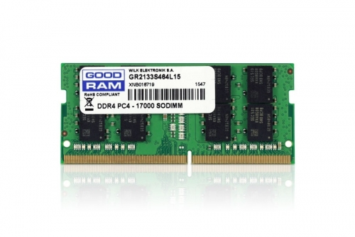 RAM DDR4 GOODRAM 4GB 2133MHz [GR2133S464L15S/4G]