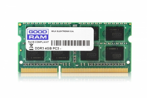 RAM DDR3L GOODRAM 4GB 1600MHz SR [GR1600S3V64L11S/4G]